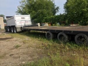 2005 Volvo Truck with Float
