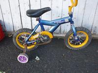 deux vélo pour enfant roue 12 pouce