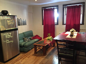 3 bedroom apt downtown for May or June