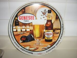 OLD GENESEE BEER TIN SERVING TRAY