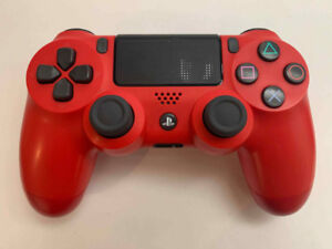 PS4 RED Controller/Manette in excellent condition - 50$