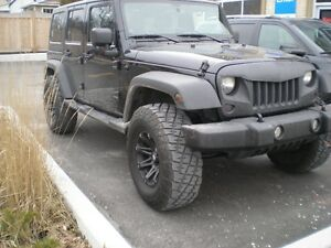 2012 Jeep Wrangler Unlimited Sport SUV, 4X4, Manual, A/C