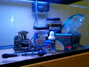 100L / 30gl fish tank/ aquarium with everything. UPDATED LISTING