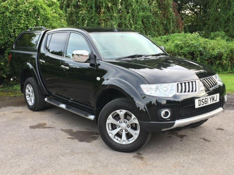 Mitsubishi L200 2.5 DI-D CR Warrior LB Double Cab Pickup 4WD 4dr (EU5... 2012/61