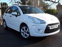 2012 Citroen C3 1.4i White 5dr 5 door Hatchback