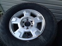 F150 Winter Rims and Tires and Sensors