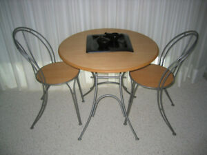 Ikea Bistro Breakfast Table & 2 Chairs