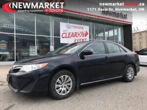 2014 Toyota Camry LE  - one owner - local - trade-in - $58.03 /W