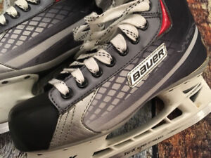 BAUER x7.0 Shift kids HOCKEY SKATES ICE BOYS GIRLS SIZE 2.5