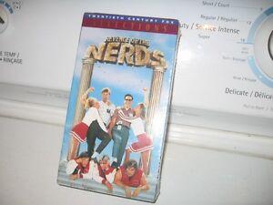 """""""RARE"""" VHS STILL """"FACTORY"""" SEALED REVENGE OF THE NERDS."""