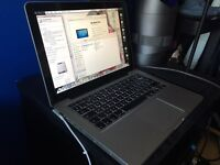 Apple MacBook Pro mid 2012 Intel 2.5 i5 processor 4gb ram 500gb hard drive