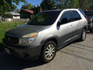 2005 Buick Rendezvous SUV car vehicle