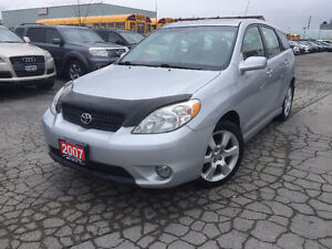 2007 Toyota Matrix XR Accident Free
