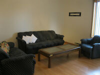 3-pc couch set with coffee table