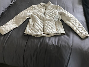 NEW UNWORN with Tags Alfred Sung quited light jacket