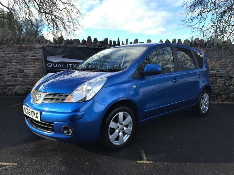 nissan note 1 6 16v tekna 5dr 2008 08 plate full service new mot in temple meads bristol. Black Bedroom Furniture Sets. Home Design Ideas