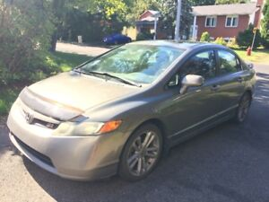 Honda Civic SI 2008 berline
