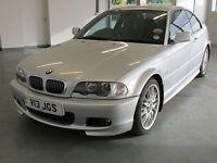 2003 BMW 330Ci M Sport AUTOMATIC 3.0 231 BHP 79K LOW MILES E46 COUPE SUPERB MINT