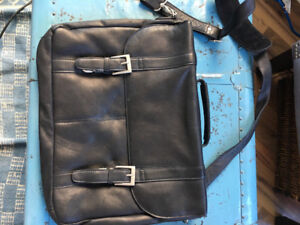 Leather lap top bag brand new