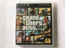 PS3 GAME / GTA 5 / MINT CONDITION DISC LIKE NEW/ NO MAP
