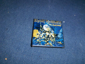 RARE IRON MAIDEN 1980'S PINBACK-LIVE AFTER DEATH-ROCK & ROLL