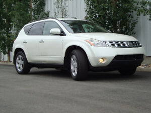 NISSAN MURANO SL  AWD - PEARL WHITE - IMMACULATE!! - 2 OWNERS!