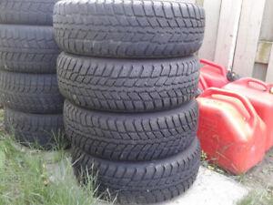 Nexen winguard 185/65/14 M/S tires on rims for sale