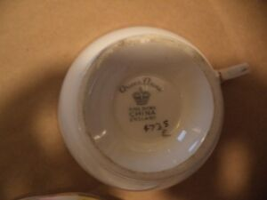 QUEEN ANNE TEA CUP AND SAUCER Windsor Region Ontario image 2