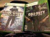Xbox 360 - call of duty