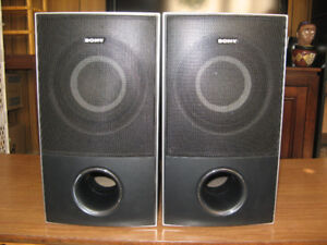 16x9 Sony speakers