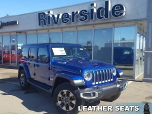 2019 Jeep Wrangler Unlimited Sahara  - Leather Seats - $357.86 B