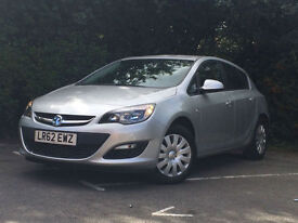 Vauxhall/Opel Astra 1.4i VVT 16v ( 100ps ) 2012.5MY Exclusiv ONLY 46K MILES