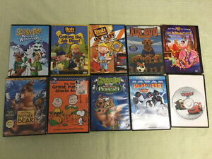 Children's DVD's $2 each