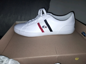 Adults size 11 Lacoste trainers