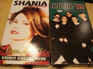 SHANIA TWAIN + BACKSTREET BOYS VIDEO COLLECTION