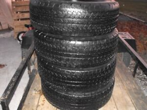 265 70 R17,, Selling for $120 Set of 4