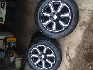 """20"""" aftermarket wheels and tires for Dodge Ram 1500"""