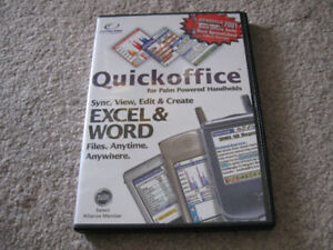 Quickoffice & Microsoft Office 2003 & MacGamut software