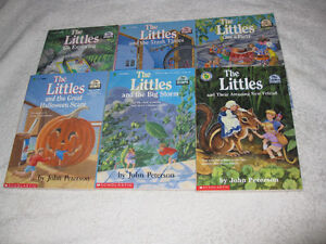 THE LITTLES - CHAPTERBOOKS - NICE SELECTION - CHECK IT OUT!