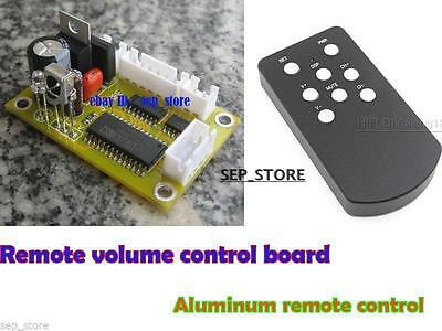 (DIY kit) Remote volume control kit + Aluminum remote control L168-42