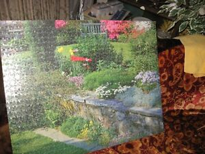 PUZZLE PICTURES ABOUT 27''BY 19'' $1 EACH or best offer