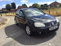 "VW GOLF GT 2.0 TDI 06 PLATE F/S/H """"ALLOYS/ELECTRIC WINDOWS/MIRRORS"