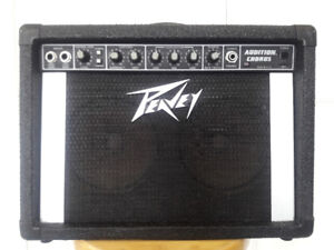 Numerous Small Peavey Guitar Amplifiers