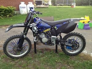 2002 Yamaha 125 ready to rip