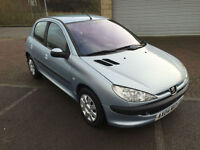 2004 Peugeot 206 1.1 S 5 Door Metallic Blue / Grey