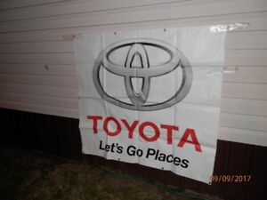 "Toyota ""Let's Go Places"" Banner *Excellent Christmas Gift*"