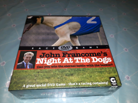 Dog racing DVD just your own race night game BRAND NEW