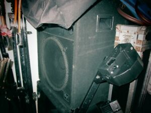 EV (Electro Voice) Speakers and Amplifier