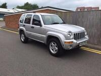 Jeep Cherokee 2.8 CRD Limited Station Wagon 4x4 5dr 2003 53 REG ONLY 82K