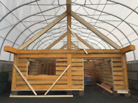 Eco Friendly Pine Cabin Kit - Order NOW and SAVE!